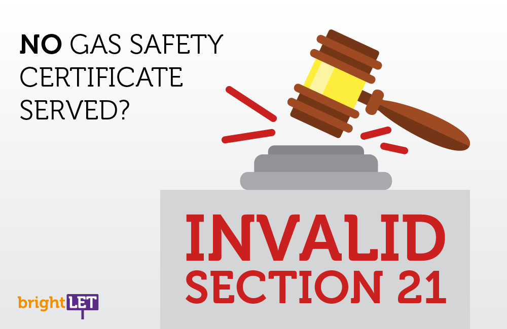 No Gas Safety Certificate Served? Invalid Section 21!